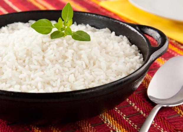 Receita de arroz tradicional